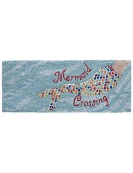 Mermaid Crossing Water Rug 24x60