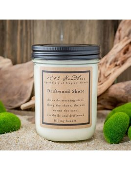 1803 Candles Soy Driftwood Shore  6.5oz