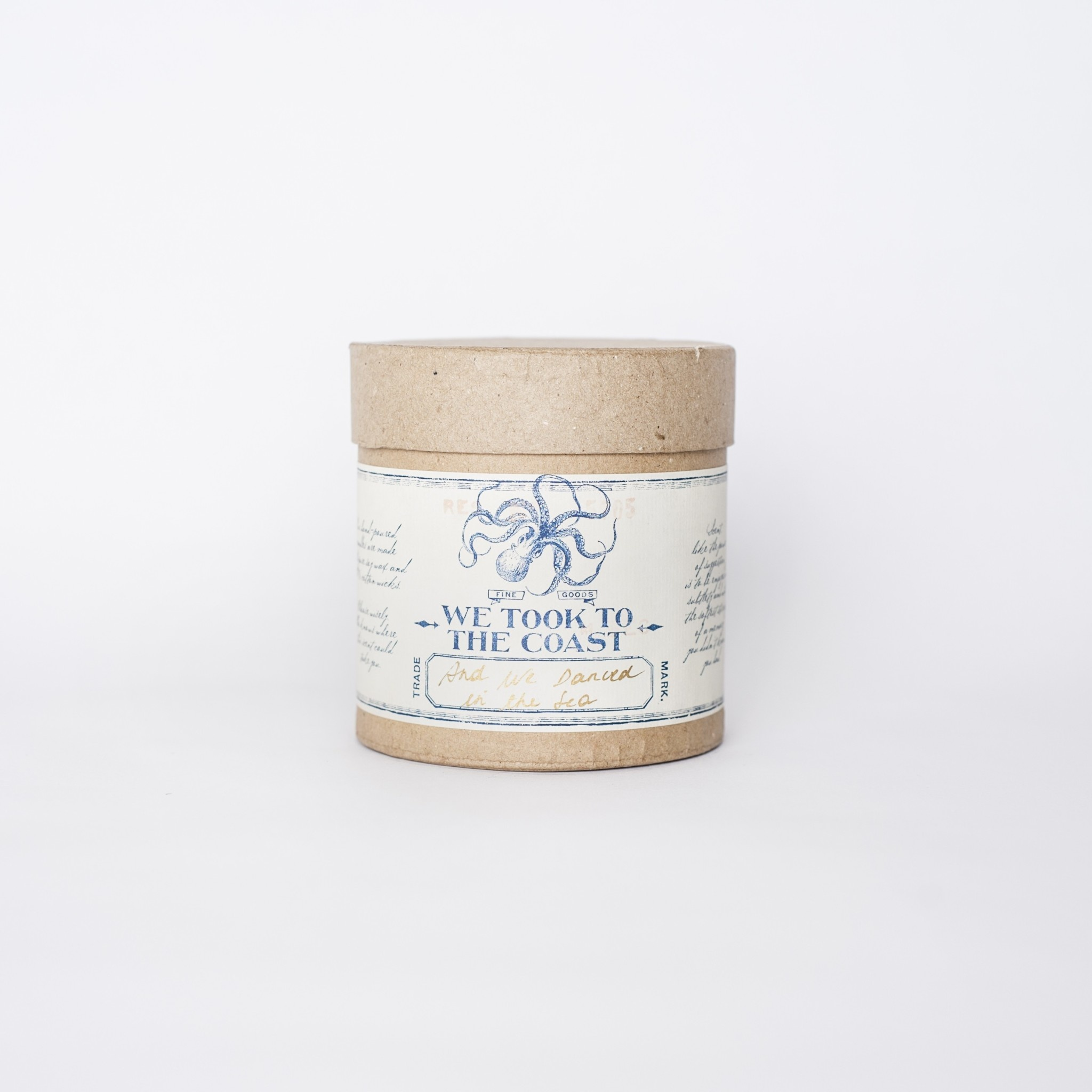 And We Danced in the Sea Bark Candle