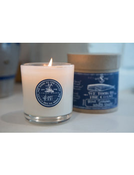 And We Danced in the Sea Glass Coast Candle