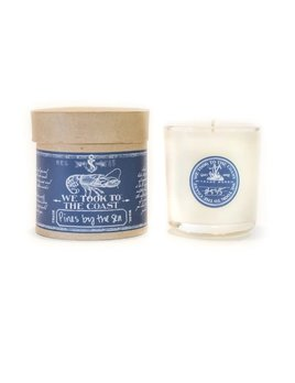 Pines by The Sea Glass Coast Candle