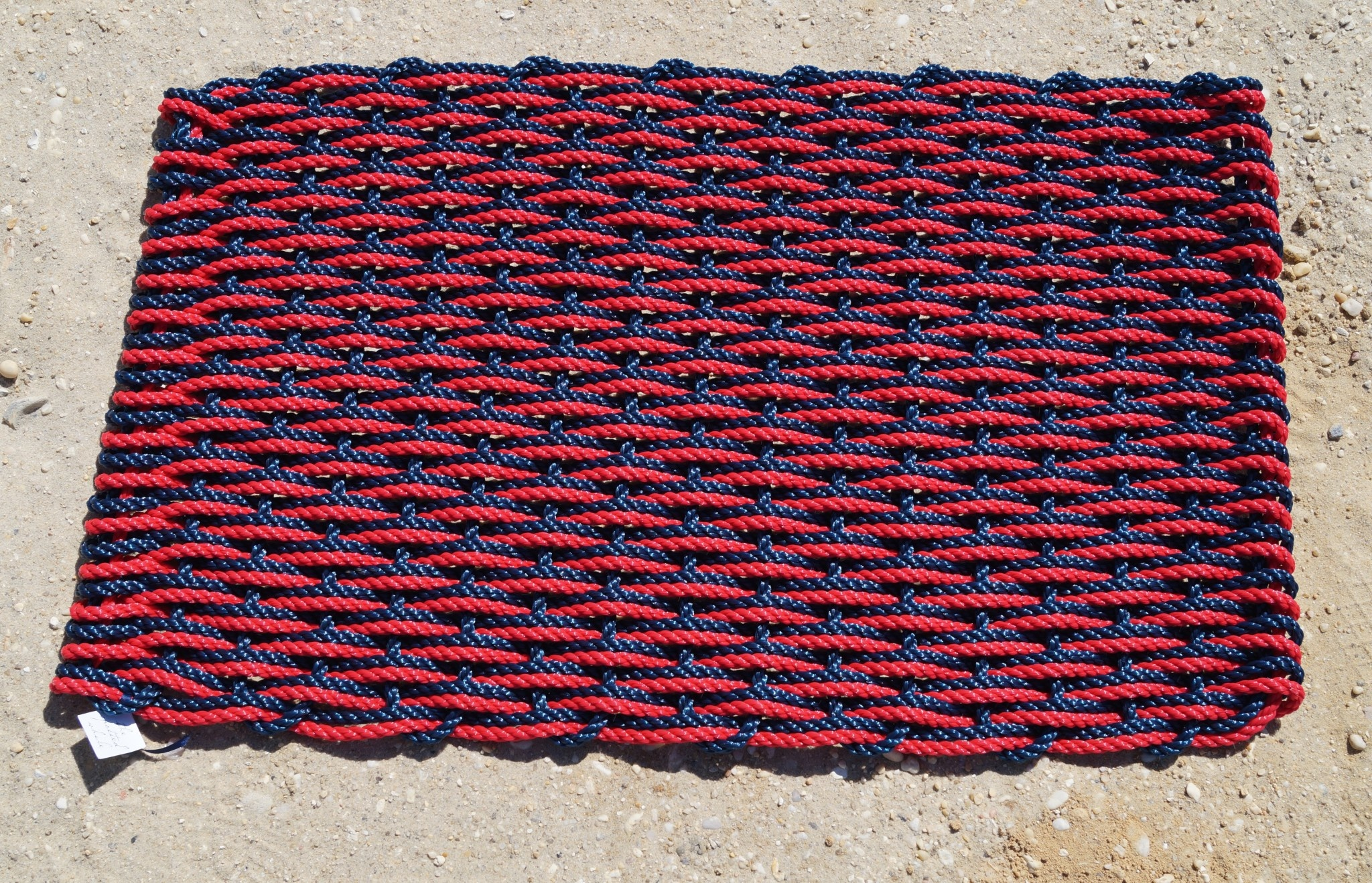 Red & Navy Doormat