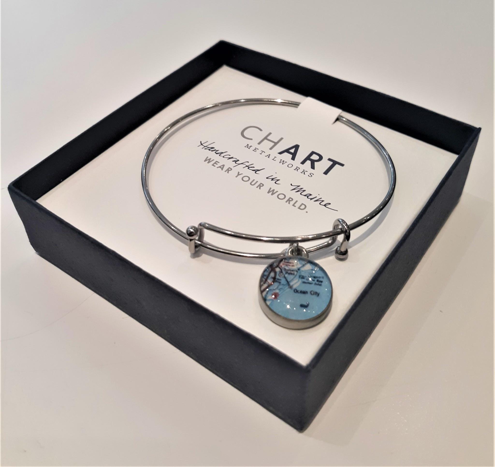 Ocean City Bangle Bracelet