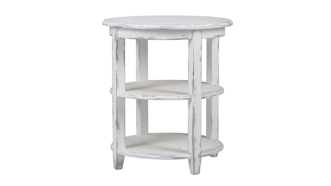 Luna Round 3 Tier Side Table