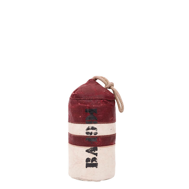 Buoy Doorstop 15x30cm Red and White
