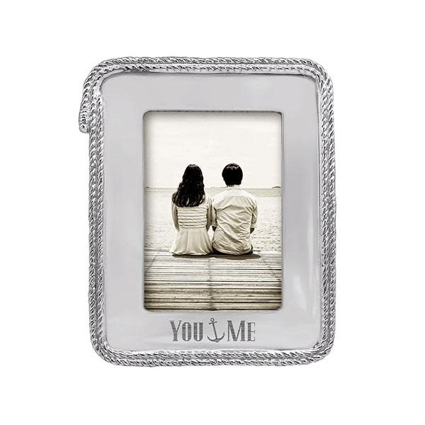 You and Me Rope Statement 5x7 Frame