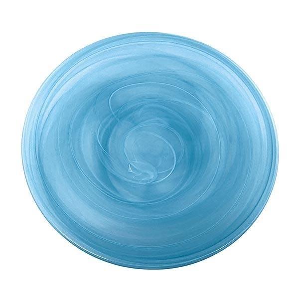 Alabaster Aqua Large Platter