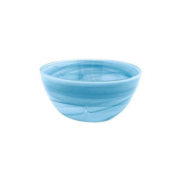 Alabaster Aqua Individual Bowl