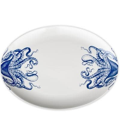 Blue Lucy Medium Oval Platter