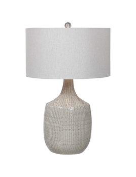 Felipe Gray Table Lamp