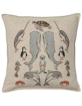 Sea Friends Pillow 16x16