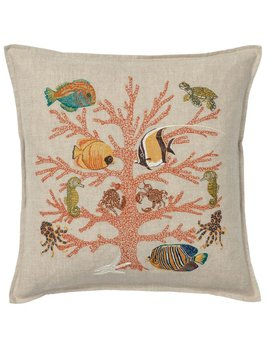 Coral Reef Pillow 16x16