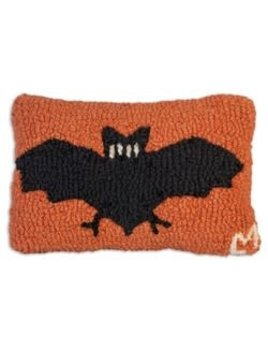 Halloween Bat 8x12 Hooked Pillow