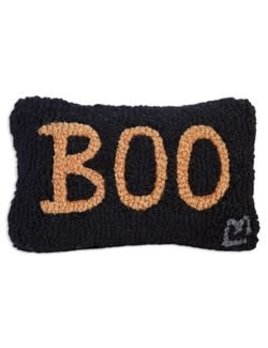 Boo 8x12 Hooked Pillow