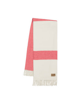 Coral Sydney Stripe Throw