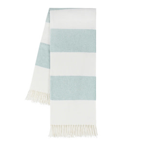 Glacier Rugby Stripe Throw