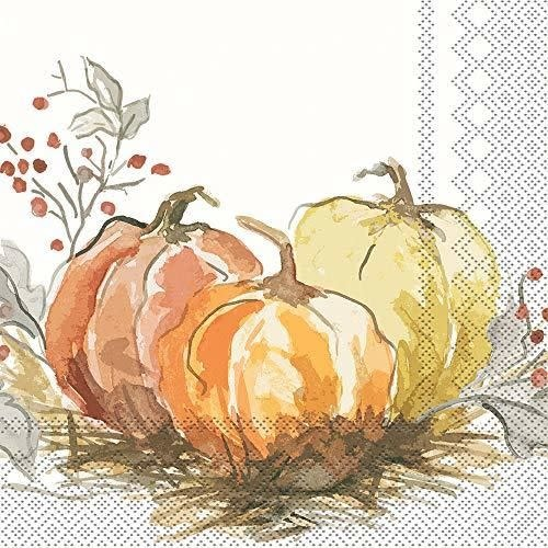 Painted Pumpkin Lunch Napkin