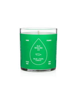 Palm and Pearl Candle