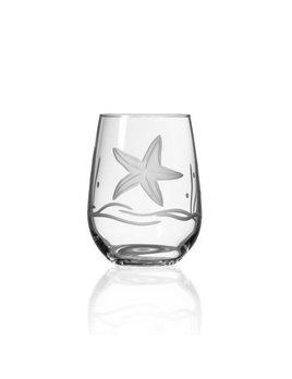 Starfish Stemless Red Wine Glass 21oz