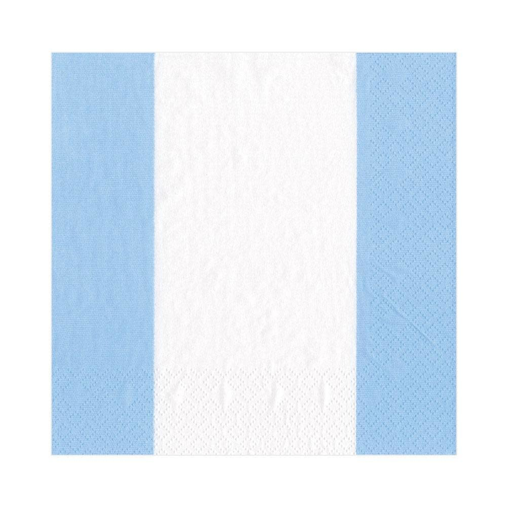 Bandol Stripe Light Blue Lunch Napkin