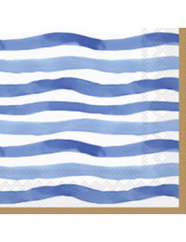 Wavy Stripe Lunch Napkins