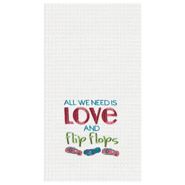 Kitchen Towel Love & Flip Flops