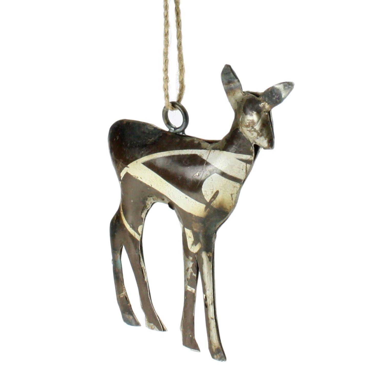 Deer Metal Ornament