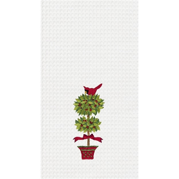 Kitchen Towel  Topiary & Cardin