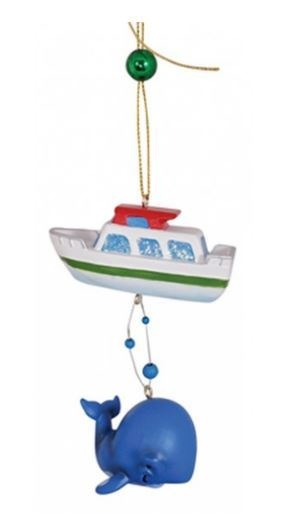 Sailboat with Dangle Whale