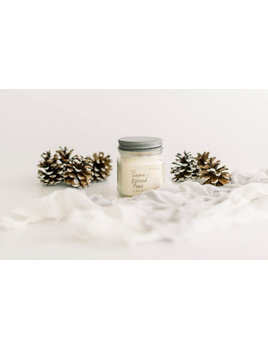 Snow-Kissed Pine Soy Candle 8oz