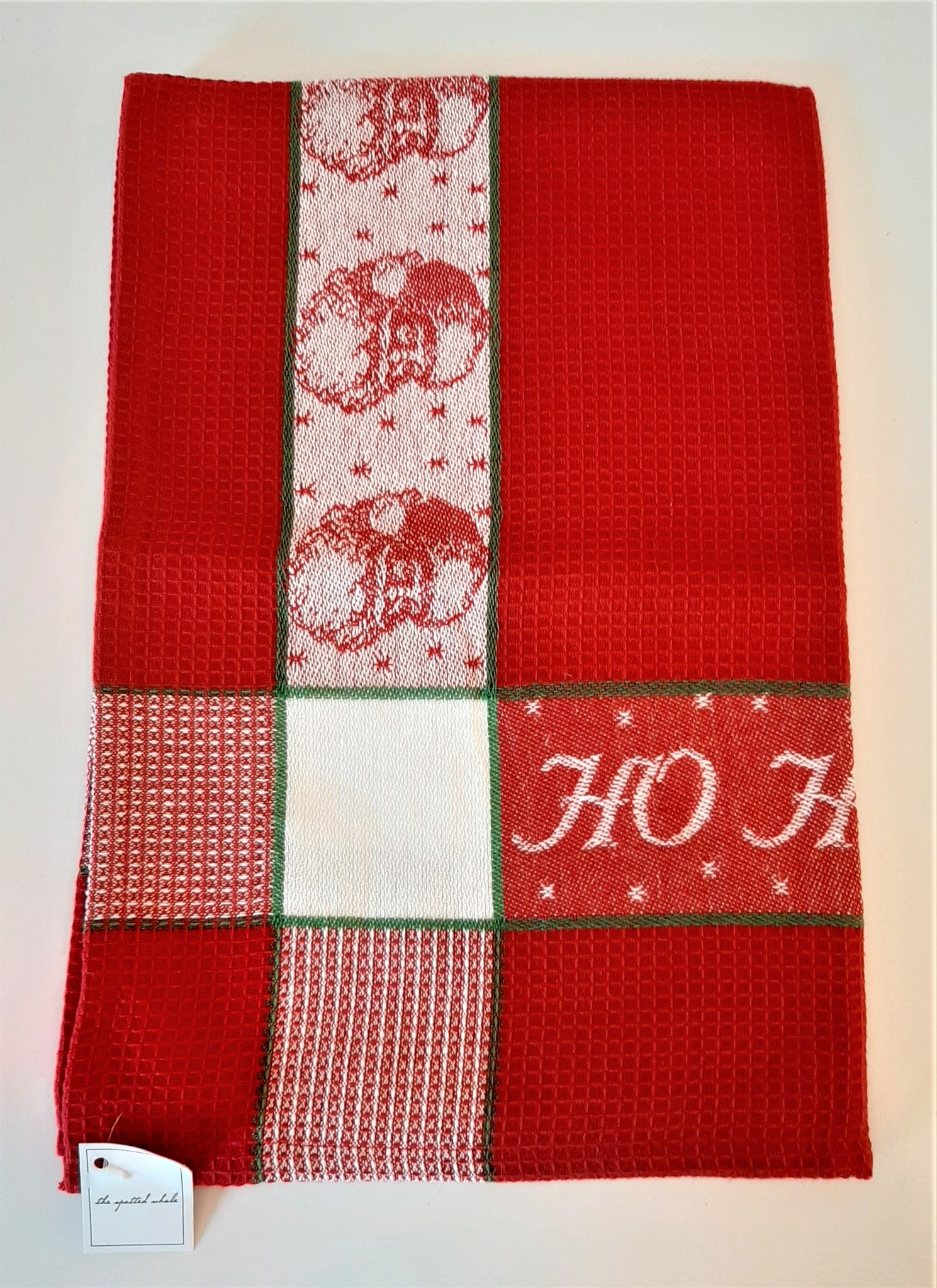 Ho Ho Ho Red Towel