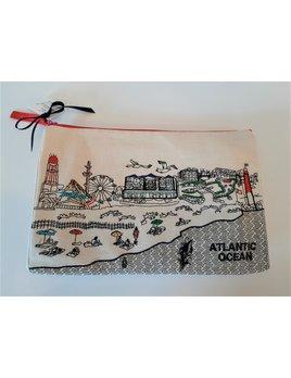 Long Beach Island Day Time Cosmetic Bag