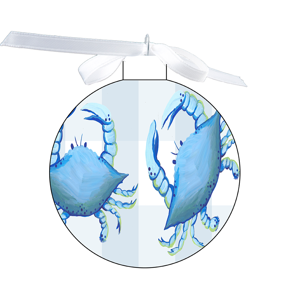 80mm Ornament - Blue Crab