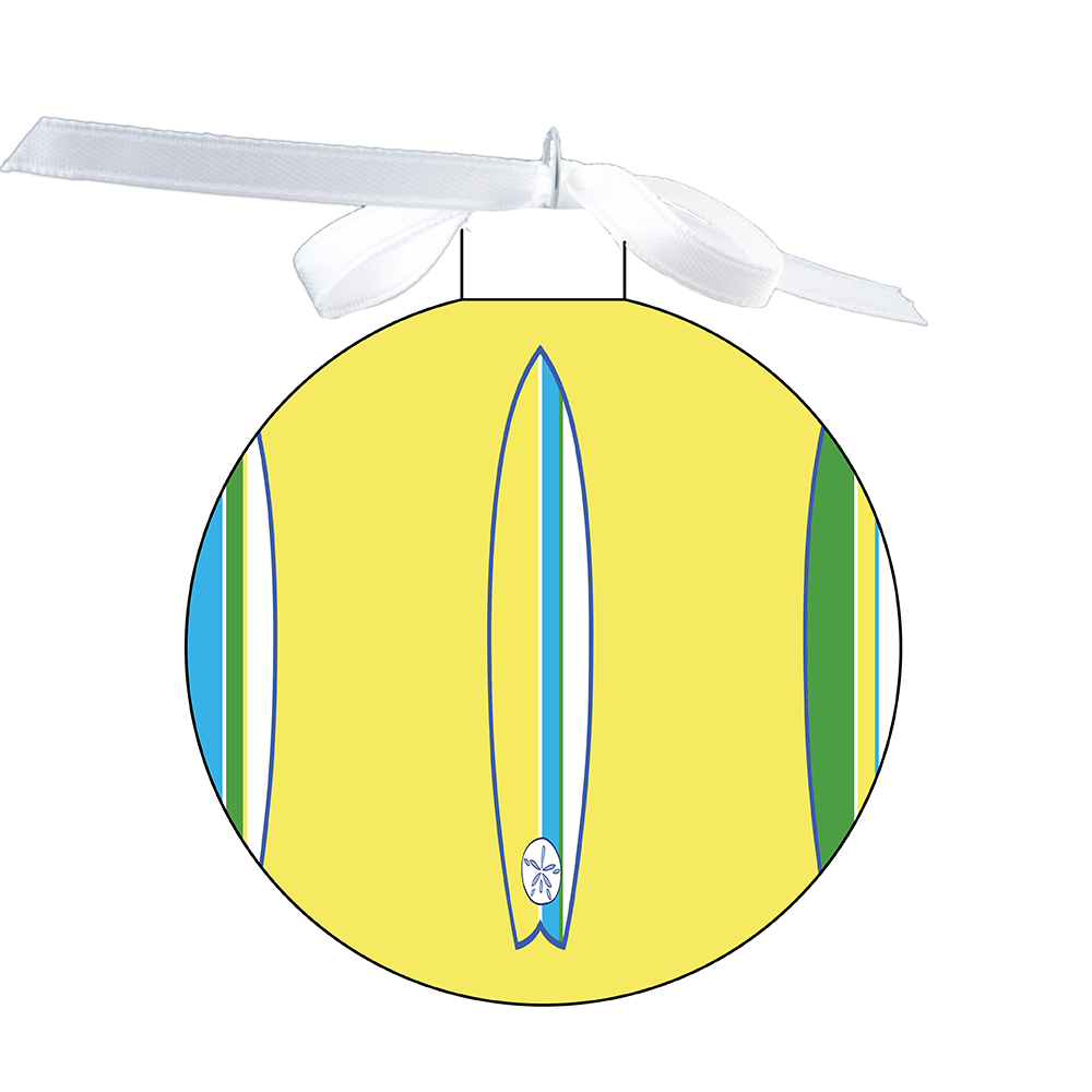 80mm Ornament - Surfboard