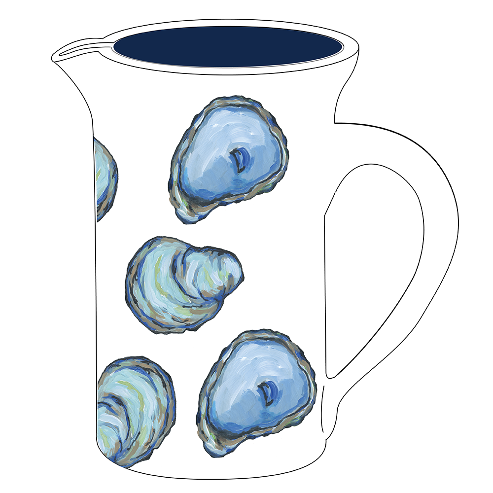 "8"" Pitcher - Oyster"
