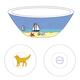 Tasting Bowl - Beach Dog Yellow