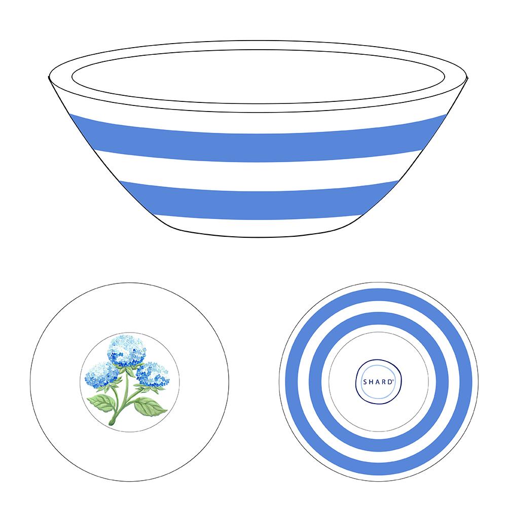 Tasting Bowl - Hydrangea