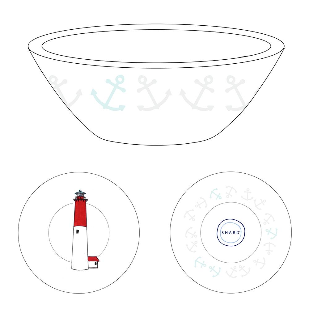 Tasting Bowl - Lighthouse Barnegat