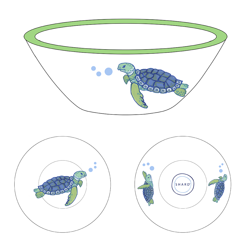 Tasting Bowl - Turtles
