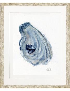 Oyster in Gray II 24x36