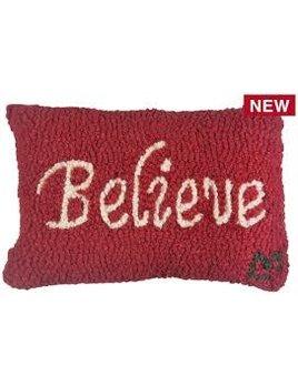 Believe 8x12 Pillow