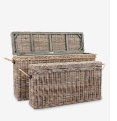 Sabrina Basket Console Small