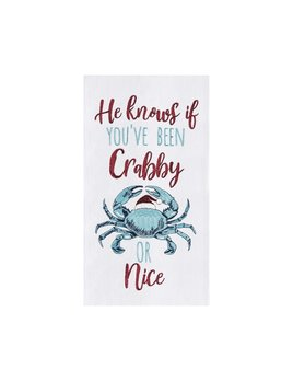 Crabby or Nice Kitchen Towel