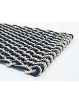 Light Tan & Navy Doormat