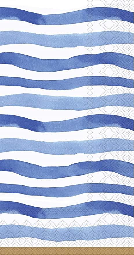 Wavy Stripe Guest Napkins