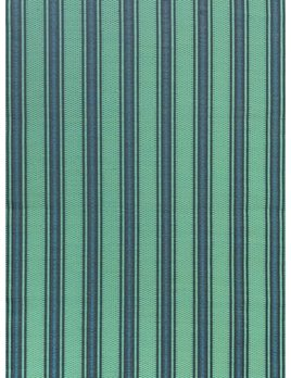 Vertical Stripes Black Aqua