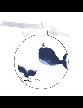 80mm Ornament - Blue Whale