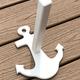 Anchor Towel Holder White