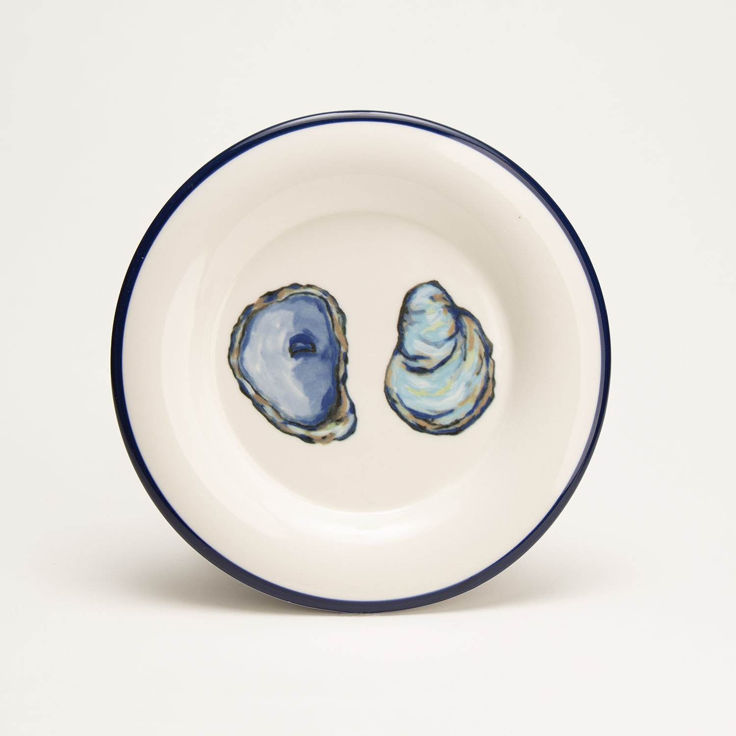 """7.5"""" Round Plate - Oyster"""