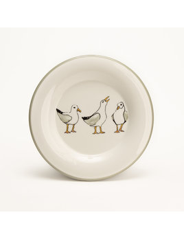 "7.5"" Round Plate - Seagulls"